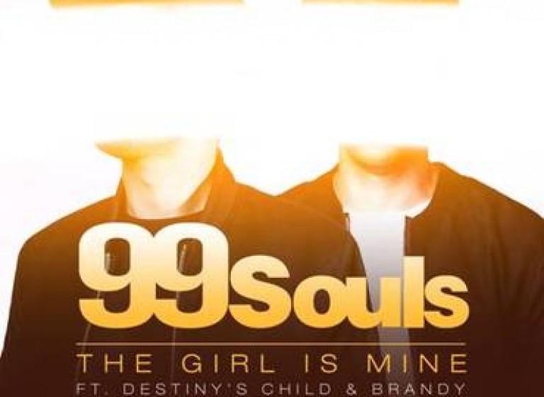 99 Souls ft Destiny's Child & Brandy - The Girl Is Mine [Remixes] - Artwork