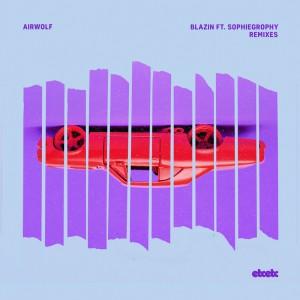 Airwolf - Blazin - Artwork
