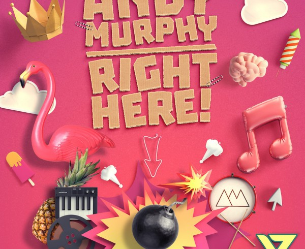Andy Murphy - Right Here - Artwork