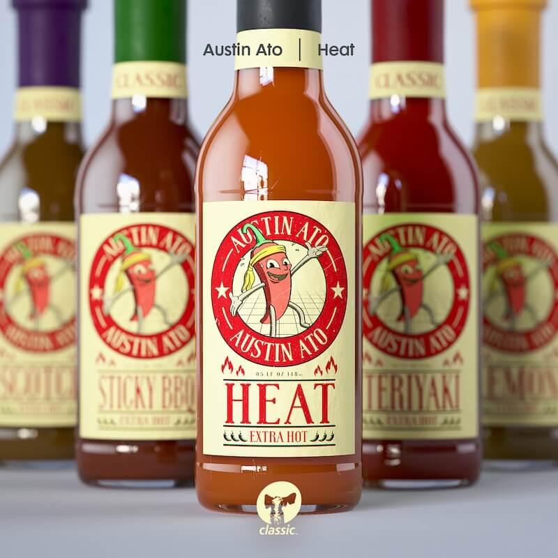 Austin Ato - Heat - Artwork