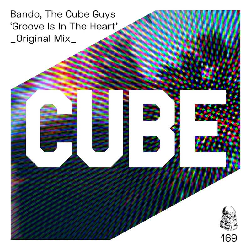 Bando, The Cube Guys - Groove Is In The Heart - Artwork
