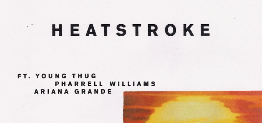 Calvin Harris ft Young Thug, Pharrell Williams & Ariana Grande - Heatstroke - Artwork-2