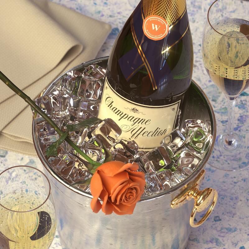 Client Liaison - Champagne Affection [Wongo - Hi Life Remix] - Artwork