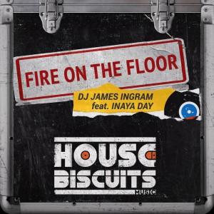 DJ James Ingram feat. Inaya Day - Fire On The Floor - Artwork