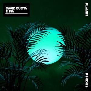 David Guetta & Sia - Flames [Remixes] - Artwork