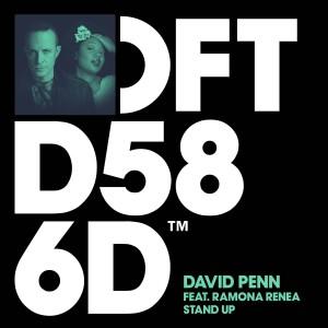 David Penn ft Ramona Renea - Stand Up - Artwork