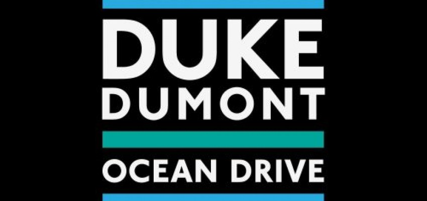 Duke Dumont - Ocean Drive - Artwork