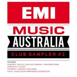 EMI Club Sampler #3 - Various - Artwork
