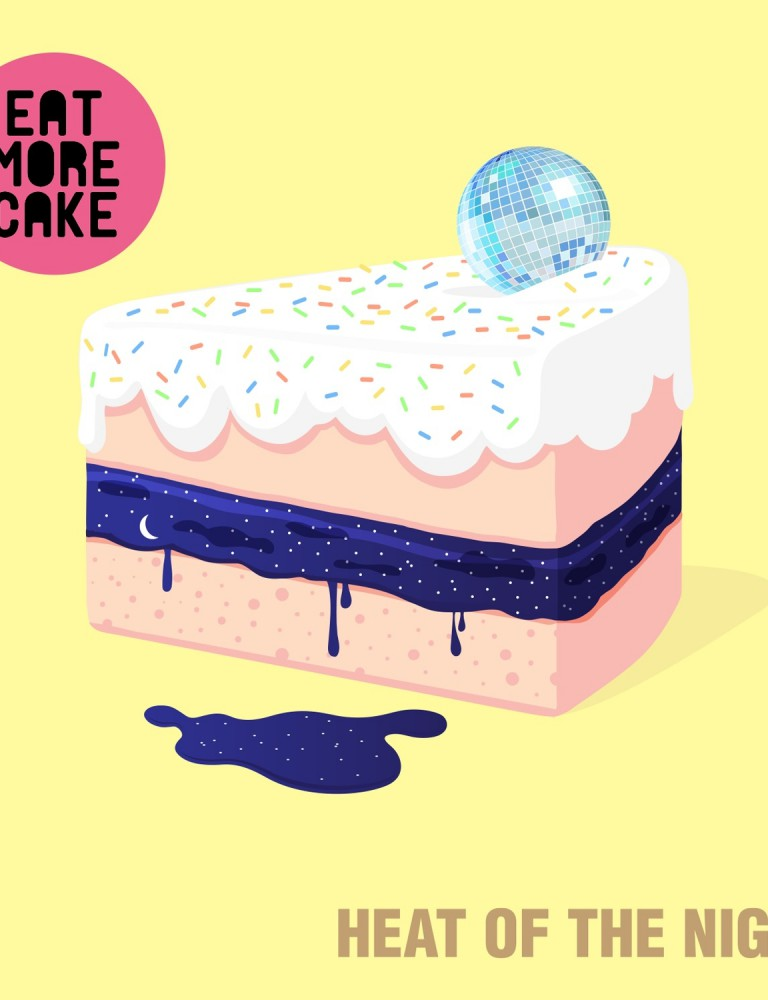 Eat More Cake  - Heat Of The Night - Artwork