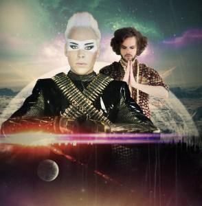 Empire Of The Sun - DNA (Remixes pt 2) - Artwork