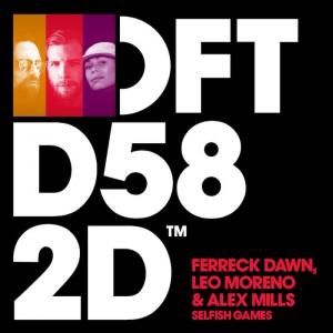 Ferreck Dawn, Leo Moreno & Alex Mills - Selfish Games - Artwork