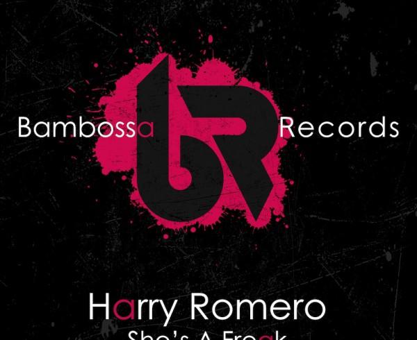 Harry Romero - She's A Freak - Artwork-2