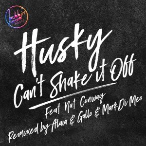 Husky ft Nat Conway - Cant Shake It Off - Artwork