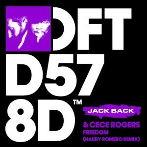 Jack Back & CeCe Rogers - Freedom [Harry Romero Remix] - Artwork