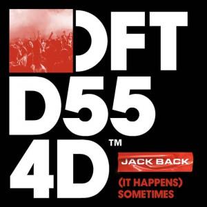Jack Back - '(It Happens) Sometimes' - Artwork