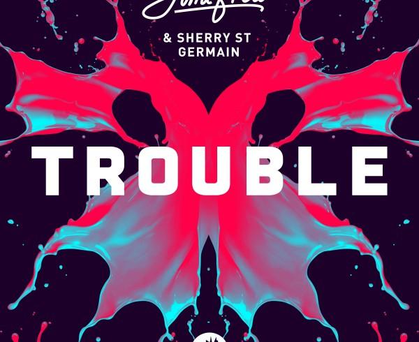 Jimi Frew & Sherry St Germain - Trouble - Artwork