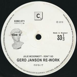Julie McDermott - Don't Go [Gerd Janson - Ejeca Remixes] - Artwork