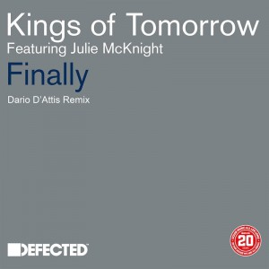 Kings Of Tomorrow ft Julie McKnight - Finally [Dario D'Attis Remix] - Artwork copy
