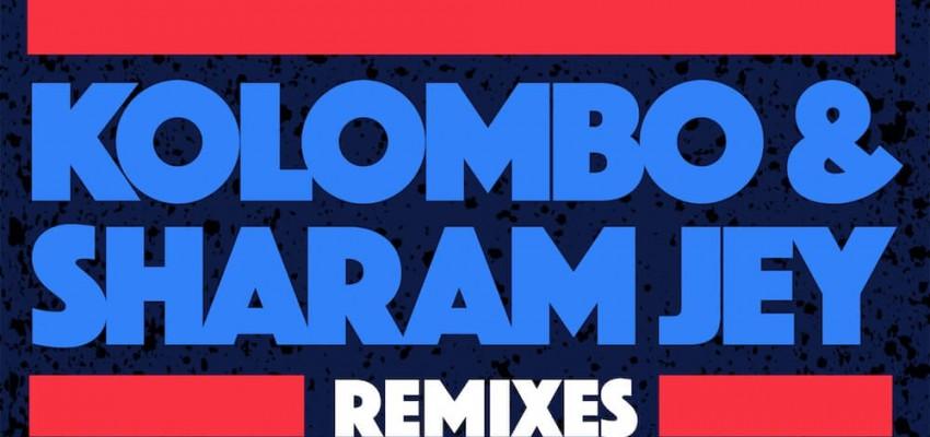 Kolombo & Sharam Jey - Nonstop! [Remixes] - Artwork-2