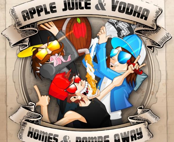 Komes & Bombs Away - Apple Juice & Vodka - Artwork