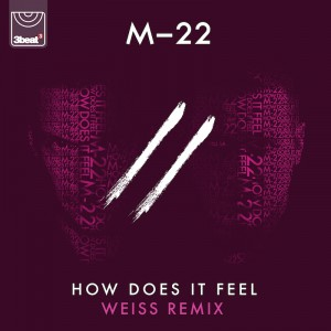 M-22 - How Does It Feel [Weiss Remix] - Artwork