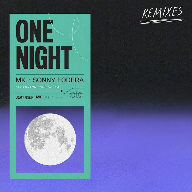MK x Sonny Fodera - One Night [Treasure Fingers - Nightlapse - Mirko Di Florio Remi... - Artwork