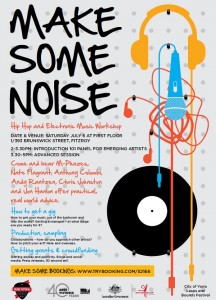 Make Some Noise flyer