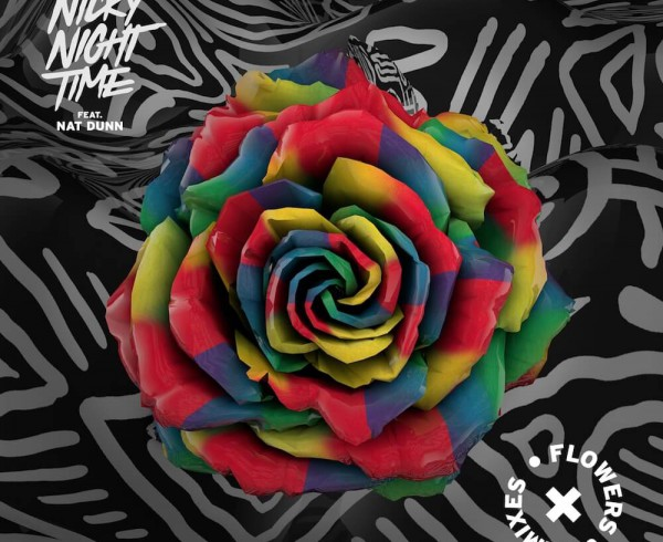 Nicky Night Time Ft Nat Dunn - Flowers [Remixes] - Artwork-2-2