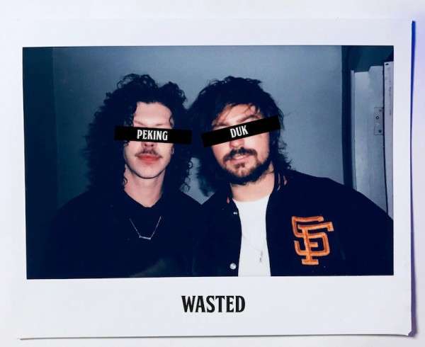 Peking Duk - Wasted - Artwork