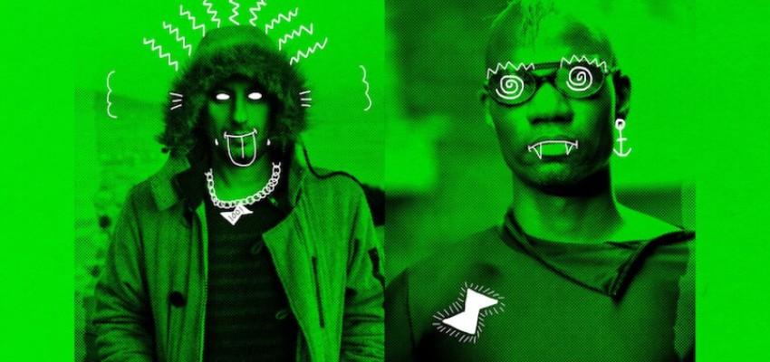 Riva Starr & Green Velvet - Keep Pushin (Harder)' EP - Artwork
