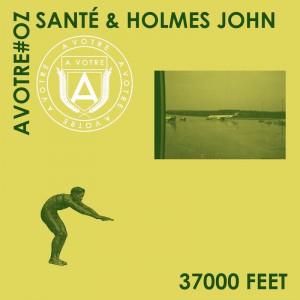 Sante x Holmes John - 37000 FEET [Taya - Sunshine Remix] - Artwork