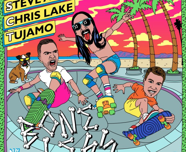 Steve Aoki, Chris Lake, Tujamo - Boneless