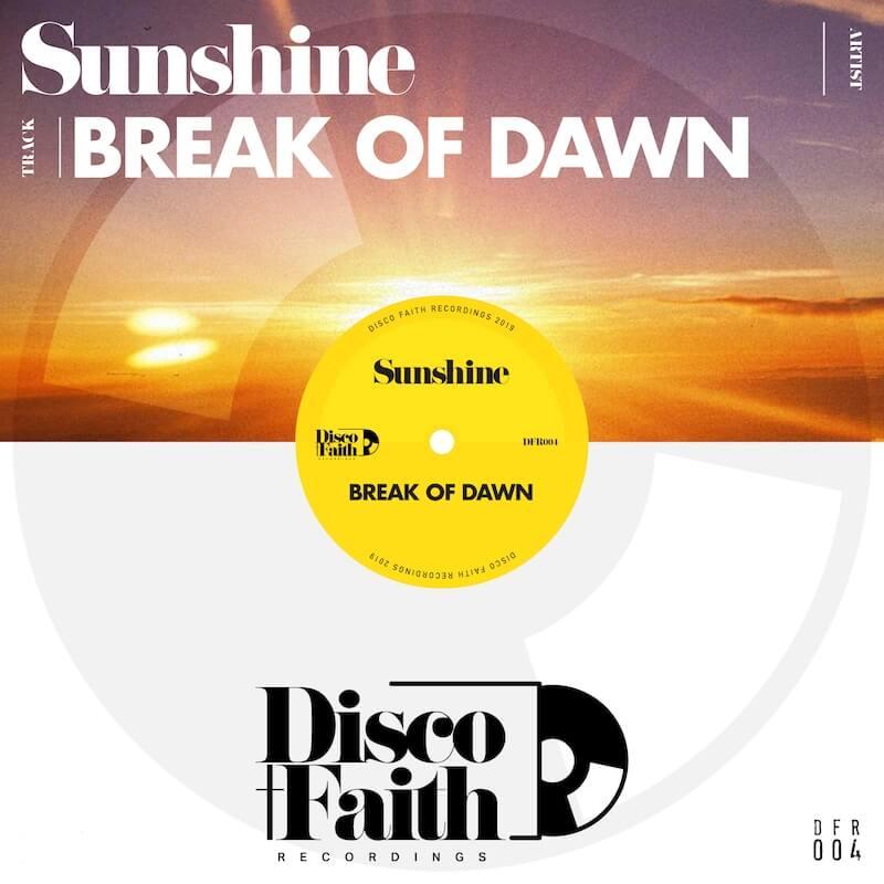Sunshine - Break Of Dawn - Artwork