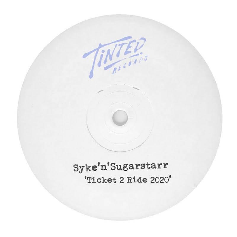 Syke'n'Sugarstarr - Ticket 2 Ride 2020 - Artwork
