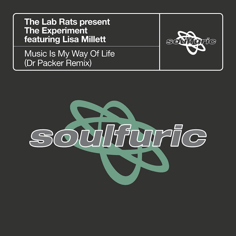 The Lab Rats present The Experiment featuring Lisa Millett - Music Is My Way Of Life - Artwork