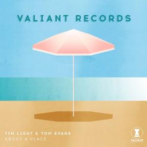 Tim Light & Tom Evans - About A Place - Artwork