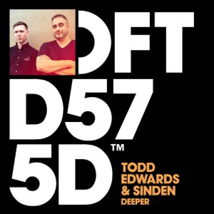Todd Edwards & Sinden - Deeper - Artwork
