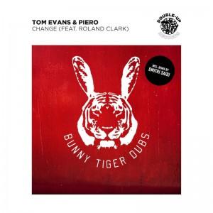 Tom Evans & Piero feat. Roland Clark - Change [Dmitri Saidi Remix] - Artwork