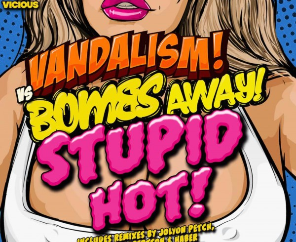 Vandalism vs Bombs Away - Stupid Hot - Artwork-2