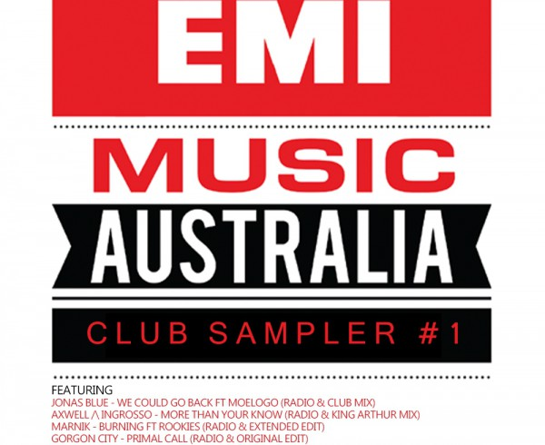 Various - EMI Club Sampler 1 - Artwork