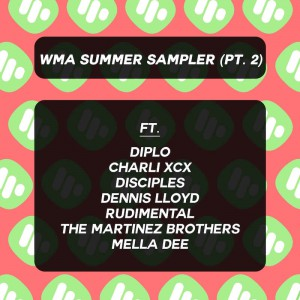 WMA Summer Sampler 2 - Various - Artwork