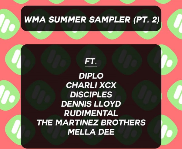 WMA Summer Sampler 2 - Various - Artwork