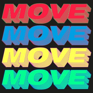 Young Romantic - Move (Time To Get Loose) - Artwork